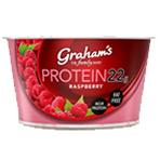 Protein Raspberry Yoghurt