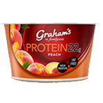Protein Peach Yoghurt